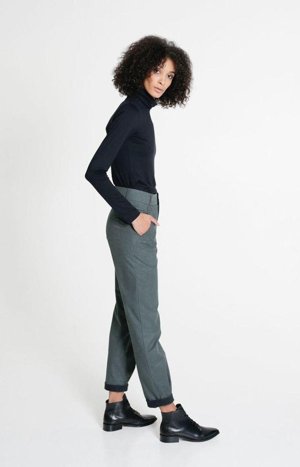 Fairway Trousers Alpine Green-TAUKO-MAMOQ