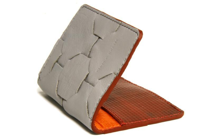 Fire & Hide Up-cycled Leather Card Holder-Elvis & Kresse-MAMOQ