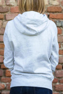 Follow Me White Organic Cotton Hoodie-blonde gone rogue-MAMOQ