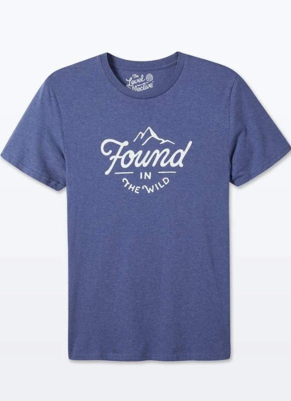 Found In The Wild Unisex Polar Blue Organic Cotton T-Shirt-The Level Collective-MAMOQ