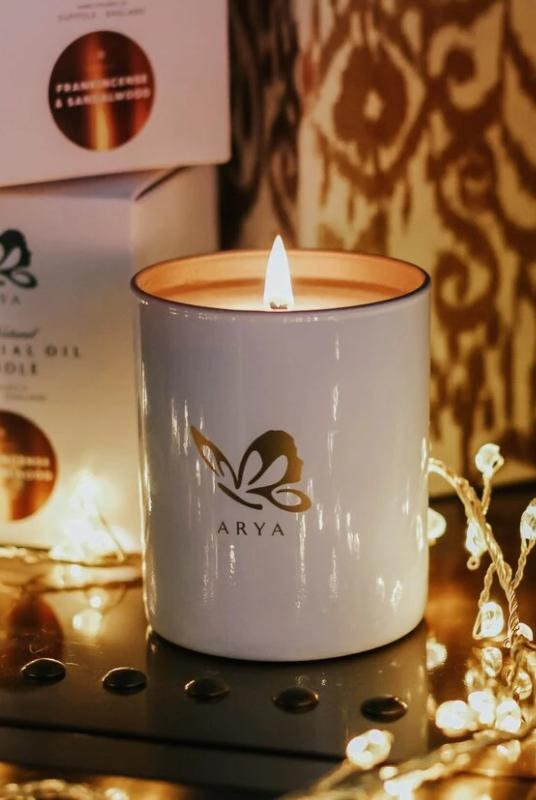 Frankincense & Sandalwood Luxury-Arya Candles-MAMOQ