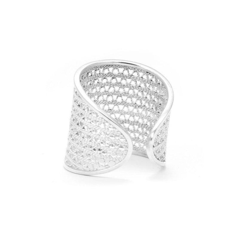 From Colombia With Love Silver Ring-Arabel Lebrusan-MAMOQ
