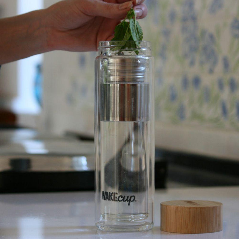 Glass Tea Infuser-WAKEcup-MAMOQ