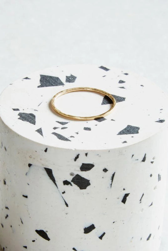 Gold Hidden Orbit Ring-KIND Jewellery-MAMOQ