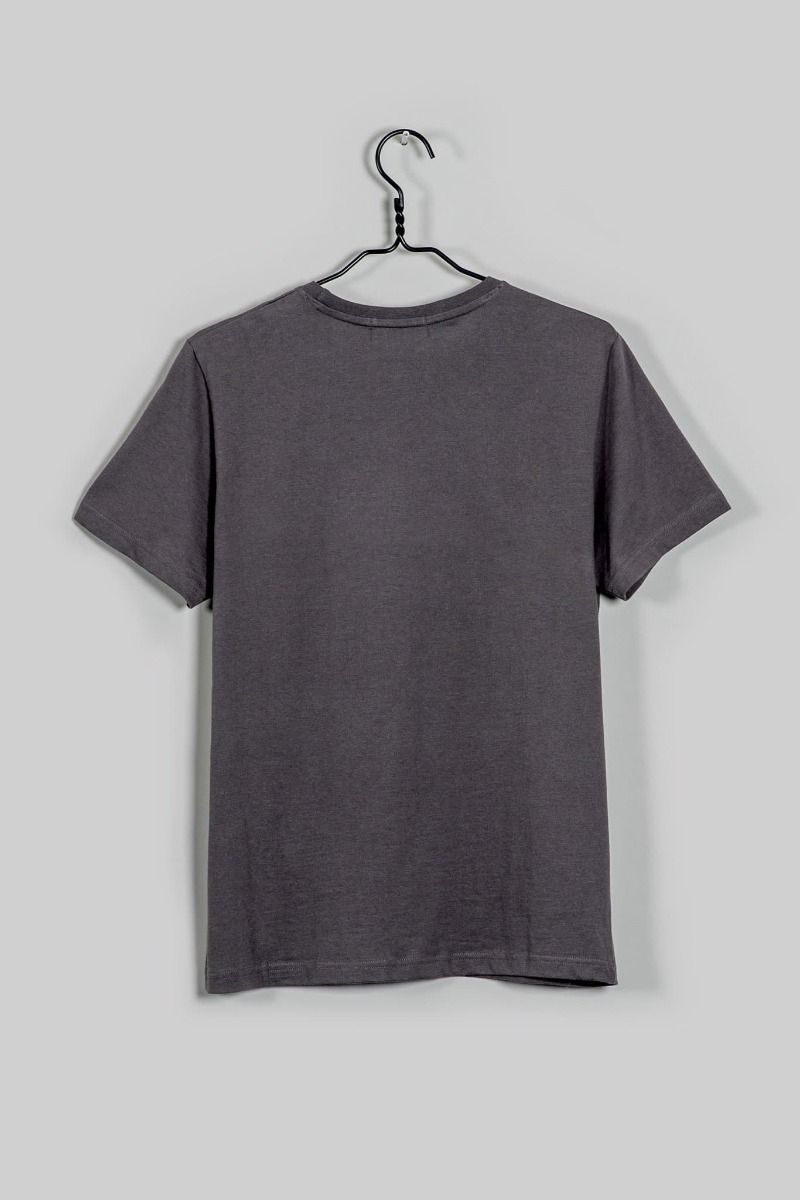 Grey Agra T-Shirt-Know The Origin-MAMOQ