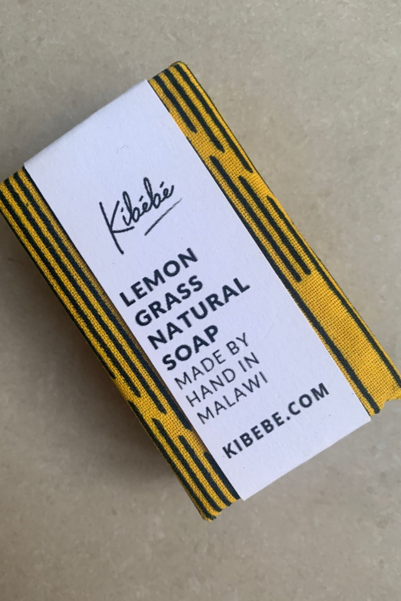 Hand Made Natural Lemongrass Soap-Mayamiko-MAMOQ