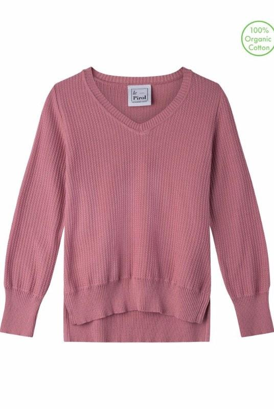 Harvest Rose Organic Cotton Jumper-Le Pirol-MAMOQ