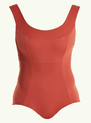 Hendricks Moroccan Red Crossback Swimsuit-Deakin and Blue-MAMOQ