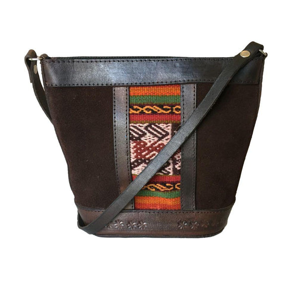 Illampu Brown Natural Leather Handbag-Untold Treasures-MAMOQ