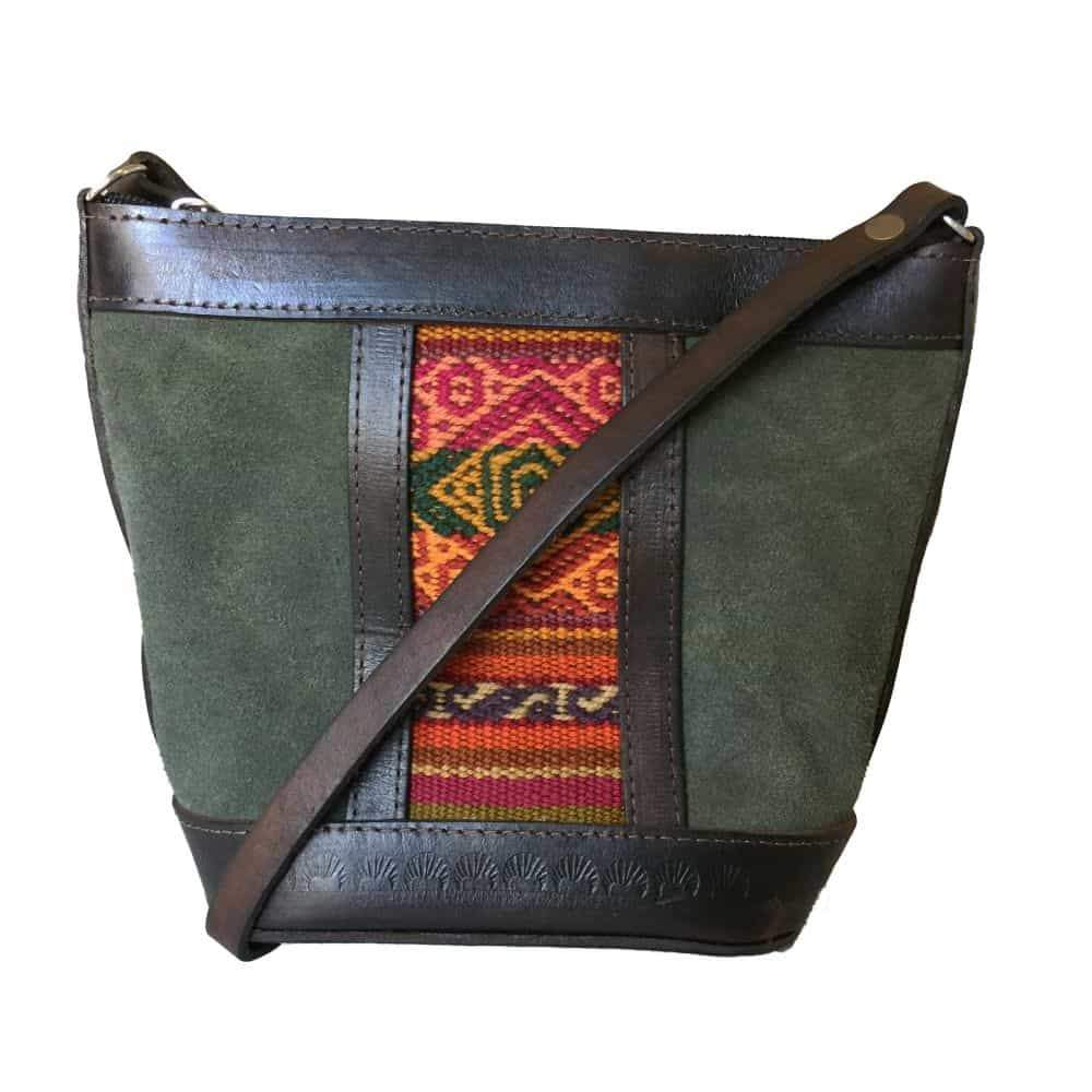 Illampu Green Handbag-Untold Treasures-MAMOQ