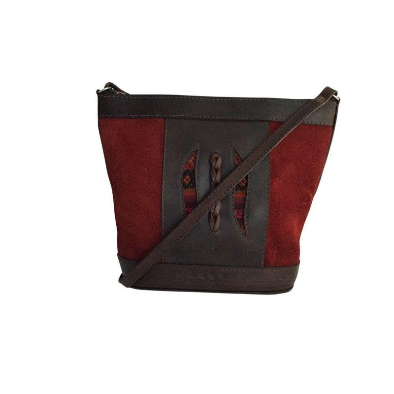 Illimani Red Handbag-Untold Treasures-MAMOQ