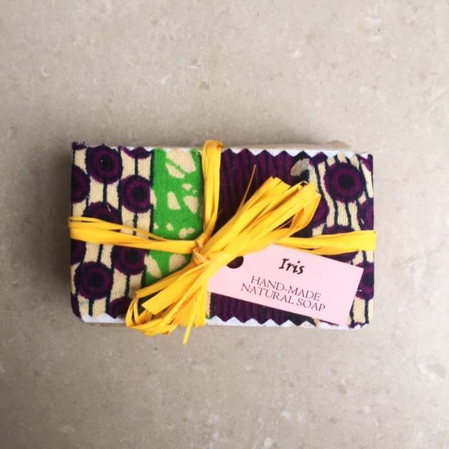 Iris Hand Made Natural Soap-Mayamiko-MAMOQ