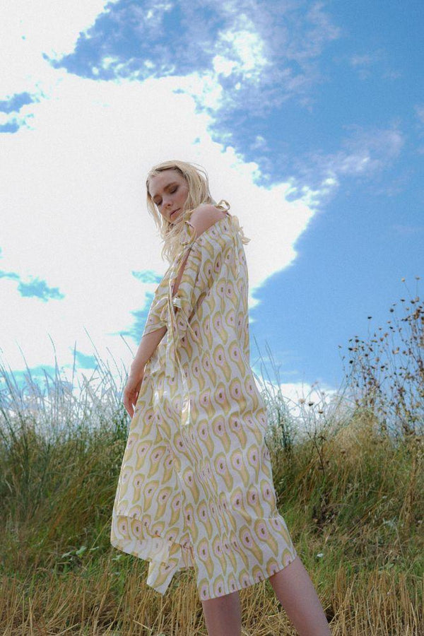 Iris Kaftan Dress-Rakha-MAMOQ