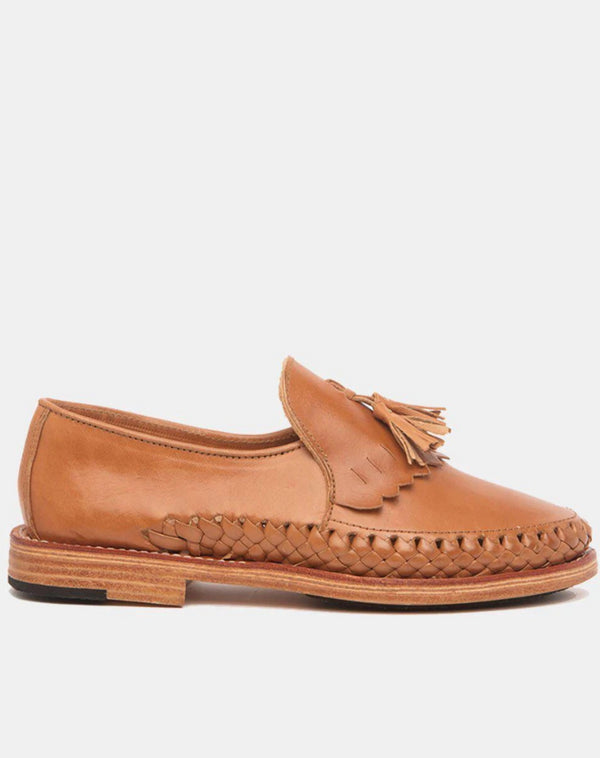 Kahlo Cognac Leather Shoes-Oxford & Derby-CANO-MAMOQ