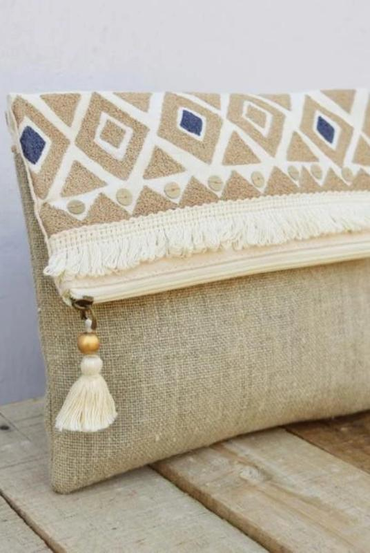 Kaira Cream Cotton Purse-Handbag-Harfi-MAMOQ