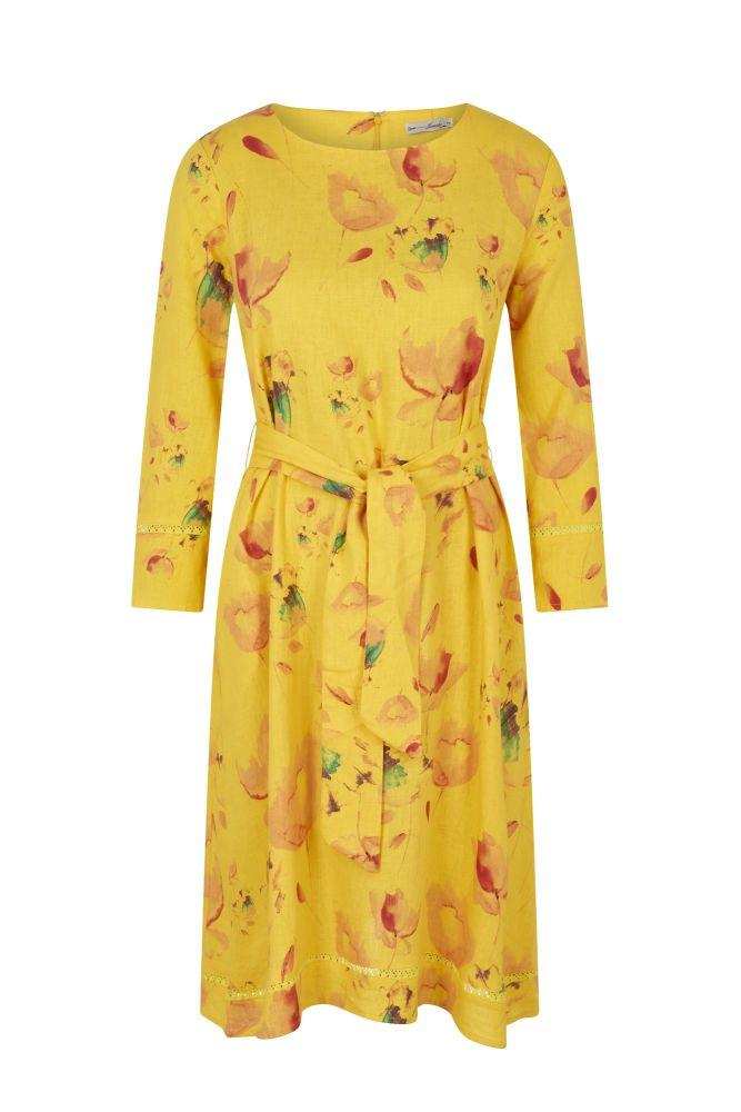 KIAN Dress Organic Yellow-Komodo-MAMOQ