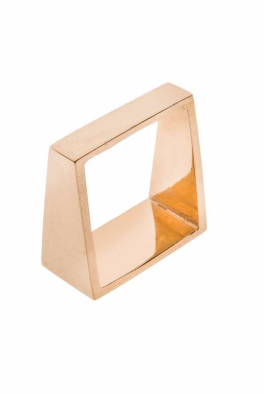 Koti Angle 18K Gold Plated Ring-ANUKA Jewellery-MAMOQ