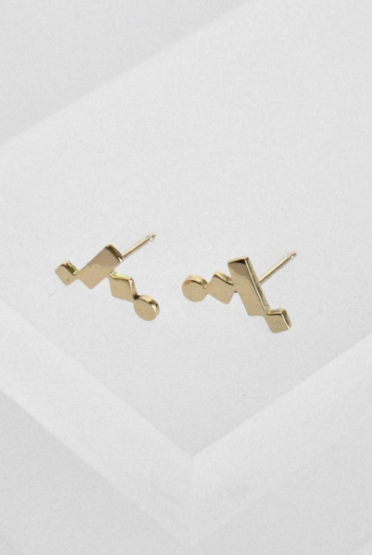 KOTI Crawler Gold Earrings-EARRINGS-ANUKA Jewellery-MAMOQ