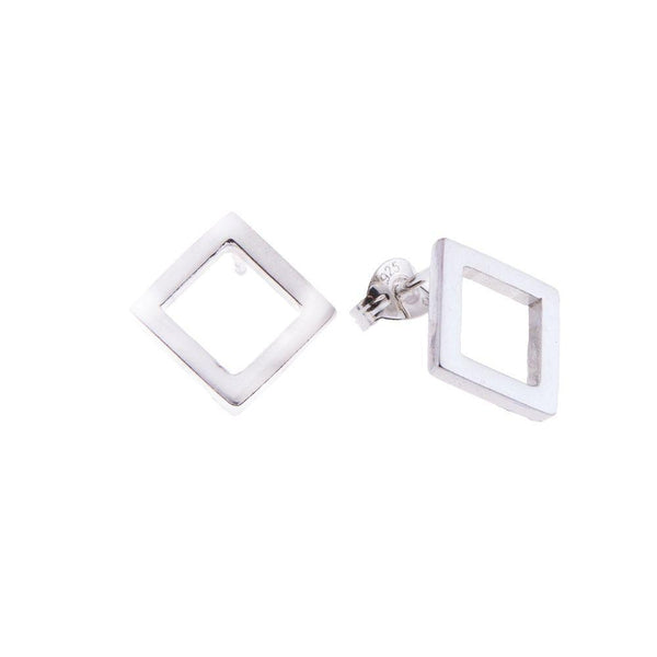 Koti Fairmined Silver Diamond Earrings-ANUKA Jewellery-MAMOQ