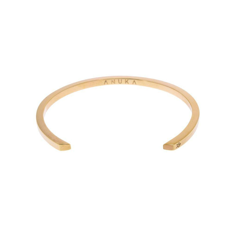 Koti Gold Cuff Bangle-ANUKA Jewellery-MAMOQ
