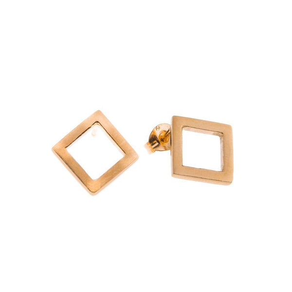Koti Gold Plated Diamond Earrings-ANUKA Jewellery-MAMOQ