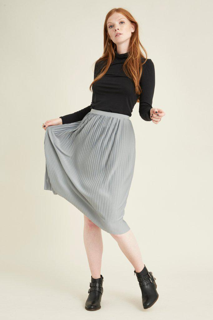 Ksamil pleated skirt-VILDNIS-MAMOQ