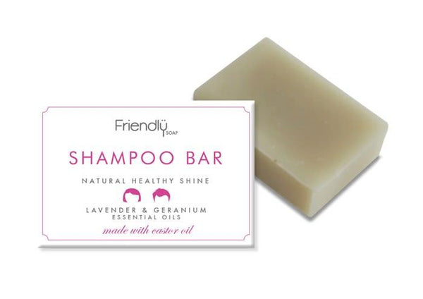 Lavender & Geranium Shampoo Bar-Friendly Soap-MAMOQ