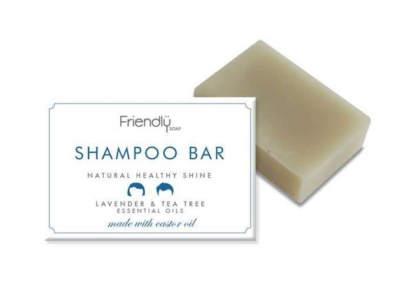 Lavender & Tea Tree Shampoo Bar-Friendly Soap-MAMOQ