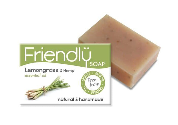 Lemongrass & Hemp Soap-Friendly Soap-MAMOQ
