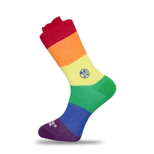 - LGBT - Homeless Bamboo Sock-Stand4 Socks-MAMOQ