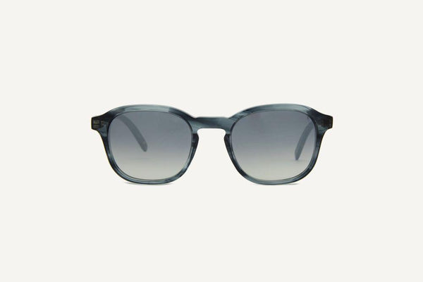 Lisbon Grey Leaves Unisex Sunglasses-Dick Moby-MAMOQ
