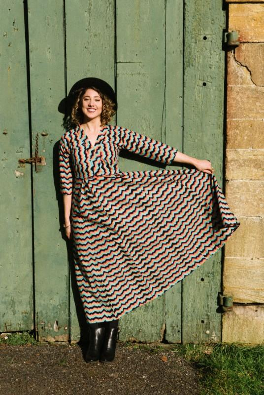 Lydia Mexican Dream Multi Cotton Dress-Humphries & Begg-MAMOQ