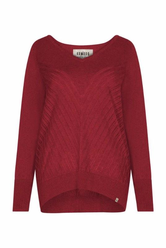 Mahi Organic Cotton Knitted Jumper-Komodo-MAMOQ