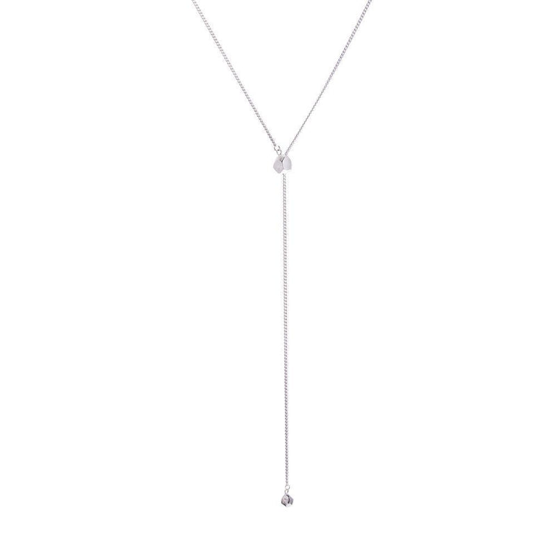 Mani Fairmined Silver Adjustable Necklace-ANUKA Jewellery-MAMOQ