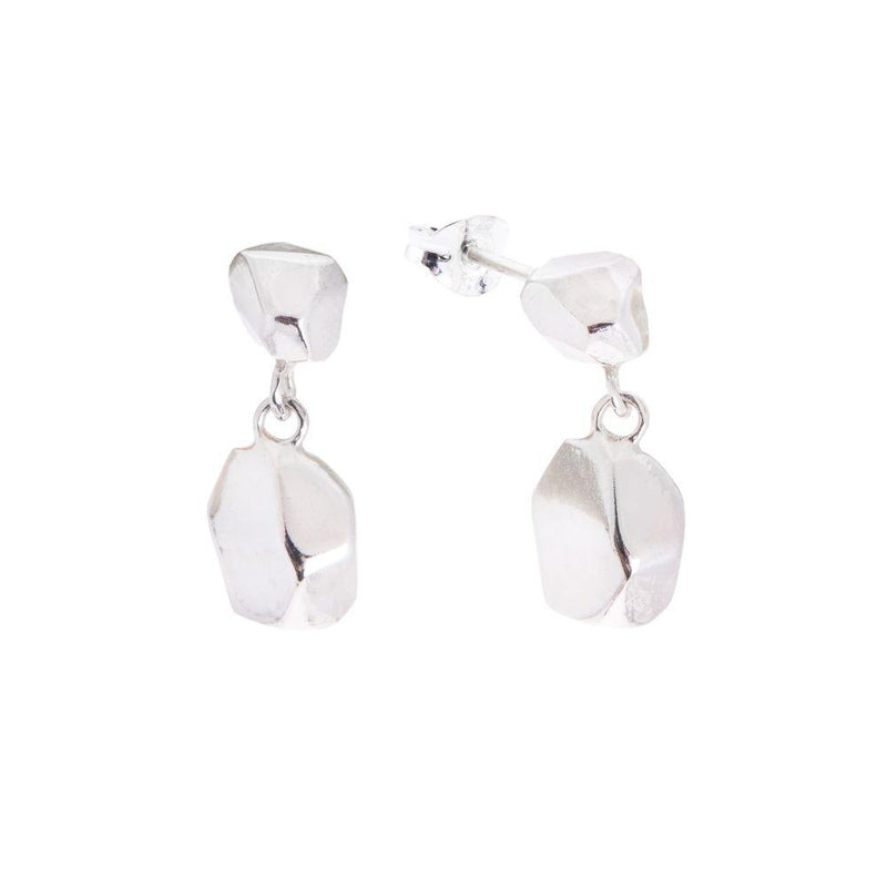Mani Fairmined Silver Drop Earrings-ANUKA Jewellery-MAMOQ