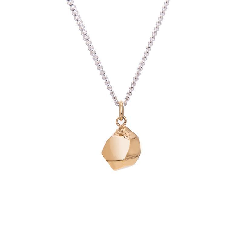Mani Gold and Fairmined Silver Large Necklace-ANUKA Jewellery-MAMOQ