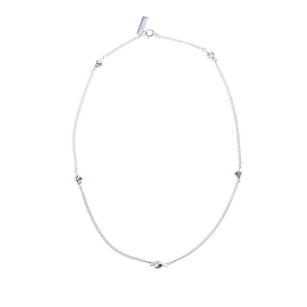 Mani Ultimate Charm Fairmined Silver Necklace-ANUKA Jewellery-MAMOQ