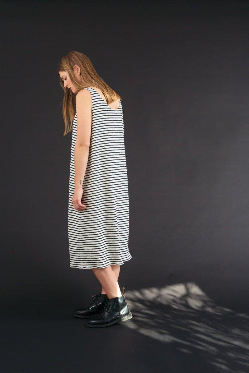Marra Stripes Dress-Kemp Gadegård-MAMOQ