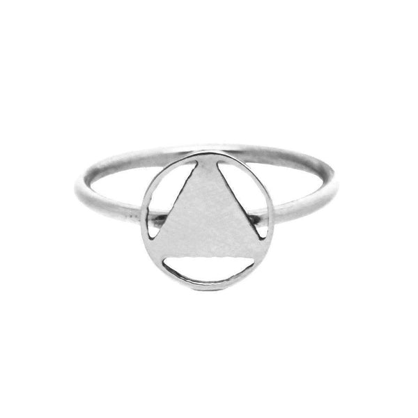 Mini Elements Silver Signet Ring-KIND Jewellery-MAMOQ