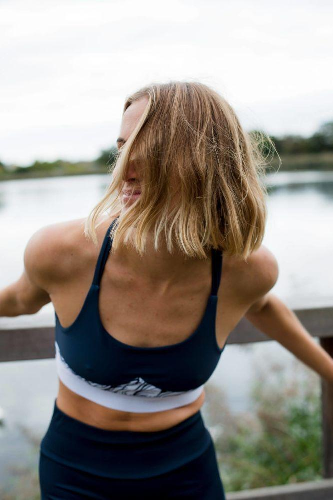 Multi-Purpose Blue Sports Bra-League Collective-MAMOQ