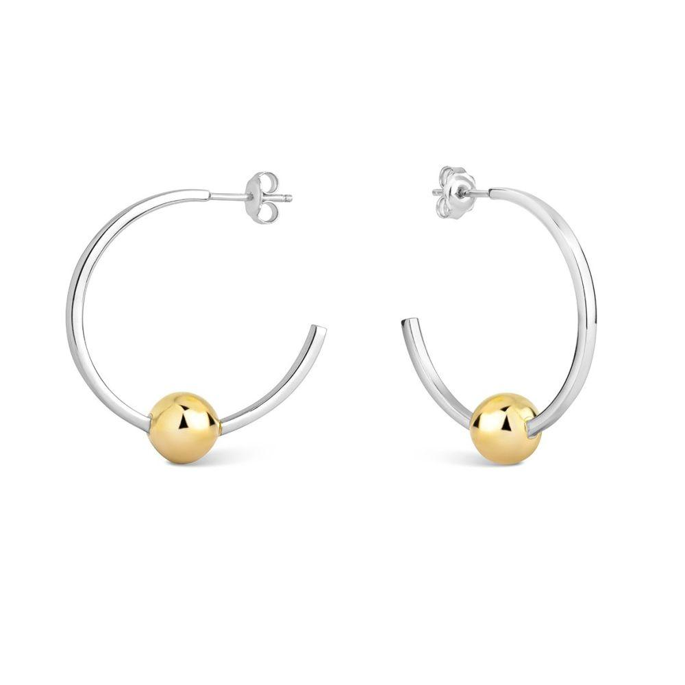 Mustard Hoops-Little by Little Jewellery-MAMOQ