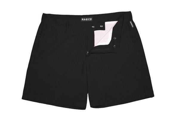 Naeco Swim Shorts Black-NAECO-MAMOQ