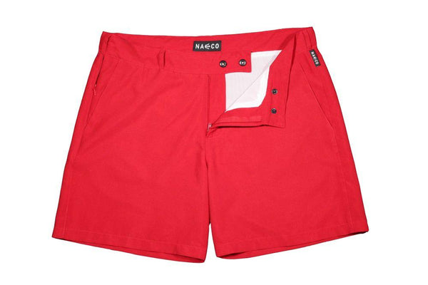 Naeco Swim Shorts Reef Red-NAECO-MAMOQ
