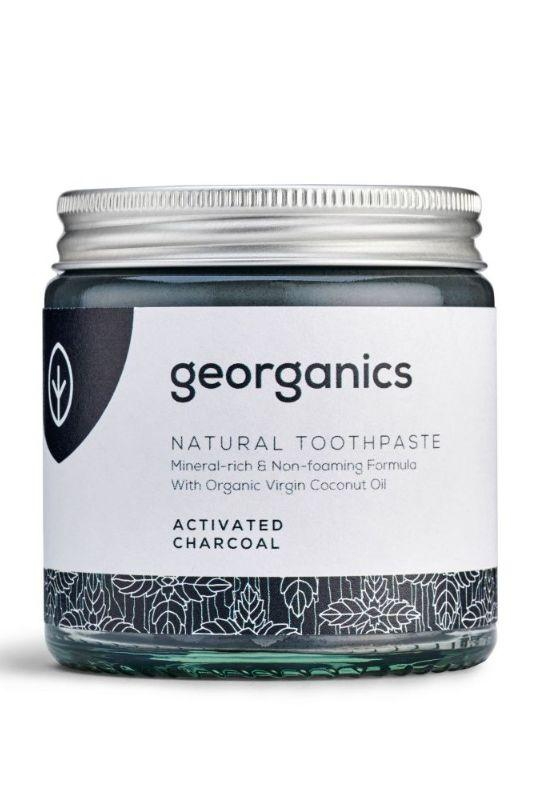 Natural Activated Charcoal Toothpaste-Georganics-MAMOQ