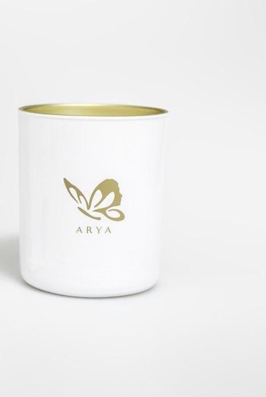 Natural Vetivert, Rosewood, & Pine Candle-Arya Candles-MAMOQ