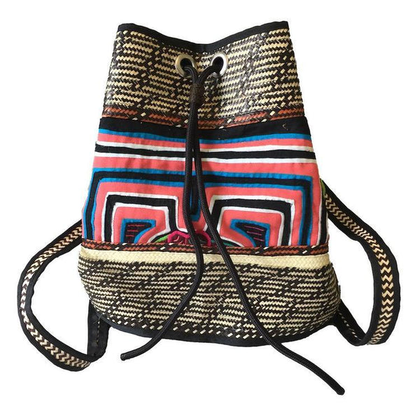 Naya Caña Flecha Handcrafted Backpack-Untold Treasures-MAMOQ