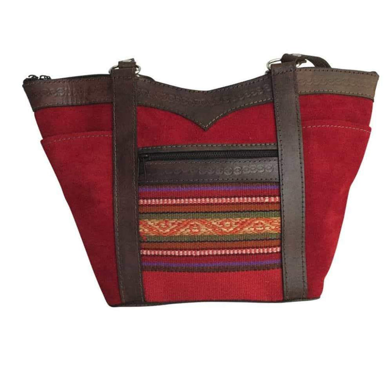 Nevado Sajama Red Handbag-Untold Treasures-MAMOQ