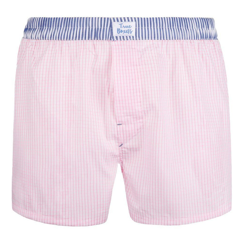 Nevermind Pink Cotton Boxers-True Boxers-MAMOQ