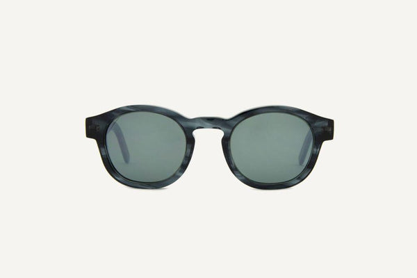 New Orleans Grey Leaves Unisex Sunglasses-Dick Moby-MAMOQ