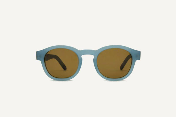 New Orleans Matte Stratos Unisex Sunglasses-Dick Moby-MAMOQ